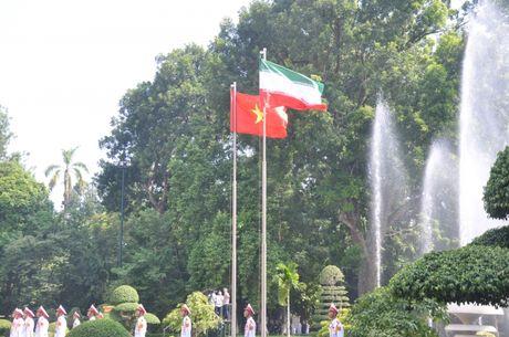 Le don Tong thong Iran tham chinh chuc Viet Nam - Anh 2
