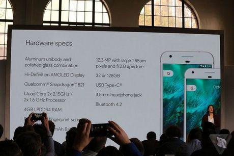 Google Pixel va Pixel XL chi co kha nang chong nuoc voi tieu chuan IP53 - Anh 1