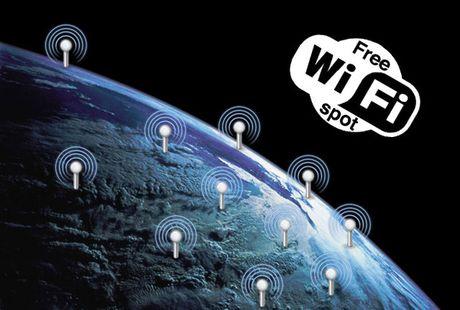 Moi xem ban do vi tri WiFi va mat khau tai san bay tren toan the gioi - Anh 1