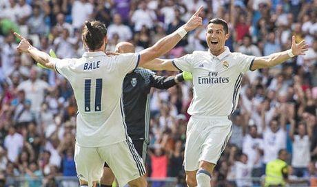 CAP NHAT tin sang 6/10: Ronaldo va Bale da ki hop dong moi. Cruyff khong chon Messi vao doi hinh xuat sac nhat moi thoi dai - Anh 1