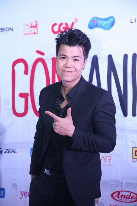 Maya - Nha Phuong rang ro trong buoi ra mat phim 'Sai Gon anh yeu em' - Anh 11