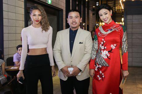 Maya - Nha Phuong rang ro trong buoi ra mat phim 'Sai Gon anh yeu em' - Anh 13