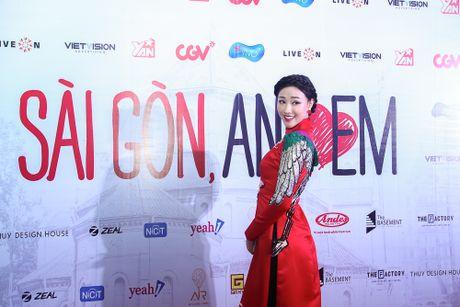 Maya - Nha Phuong rang ro trong buoi ra mat phim 'Sai Gon anh yeu em' - Anh 5