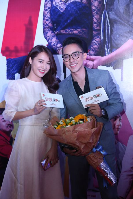 Maya - Nha Phuong rang ro trong buoi ra mat phim 'Sai Gon anh yeu em' - Anh 6