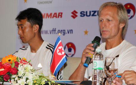 TRUC TIEP DT Viet Nam - Trieu Tien: Tap duot cho AFF Cup 2016 - Anh 2