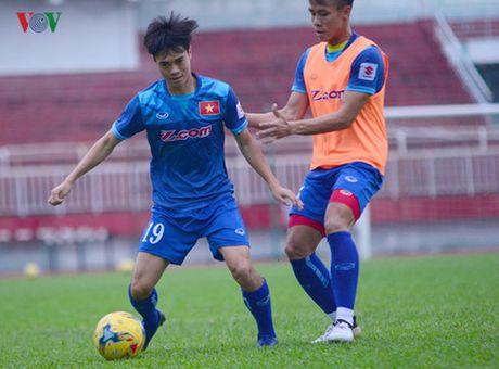 TRUC TIEP DT Viet Nam - Trieu Tien: Tap duot cho AFF Cup 2016 - Anh 3