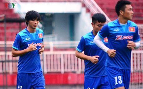 TRUC TIEP DT Viet Nam - Trieu Tien: Tap duot cho AFF Cup 2016 - Anh 5