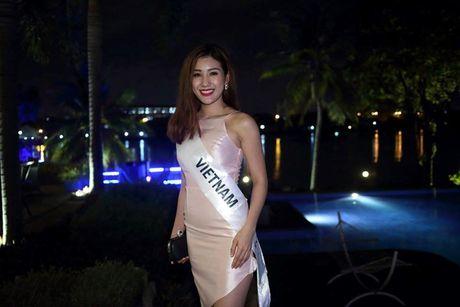 Hinh anh dau tien cua Bao Nhu tai cuoc thi Hoa hau Lien luc dia 2016 - Anh 6