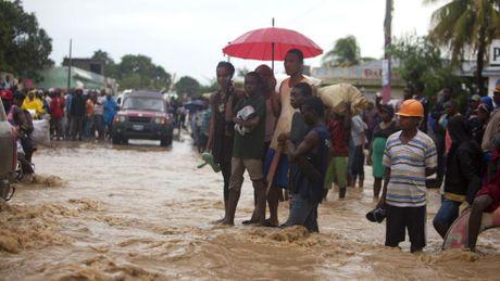 Haiti: So nguoi chet do bao Matthew gay ra da len toi 136 - Anh 1