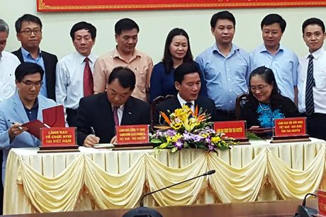 Samsung danh 500.000 USD de xay dung truong hoc tai Thai Nguyen - Anh 1