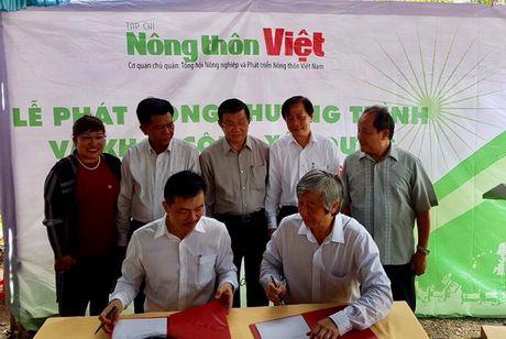 MobiFone tham gia xay dung cau nong thon o xa My Thanh Dong - Anh 1