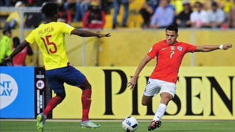 Vong loai World Cup 2018: Brazil, Uruguay dai thang, Argentina va Chile lam nguy - Anh 2
