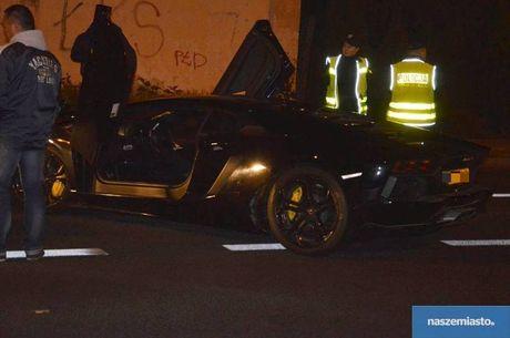 Lamborghini Aventador mat trom tai Duc bi 'bo roi' o Ba Lan - Anh 4