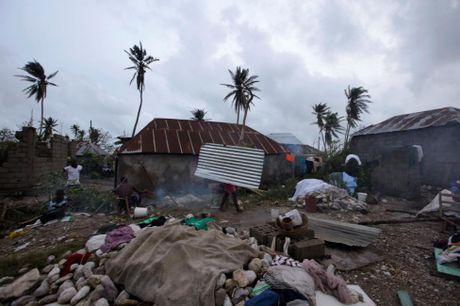 Chum anh Haiti tan hoang sau sieu bao Matthew - Anh 12