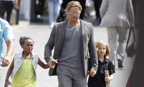 Brad Pitt da duoc gap con - Anh 1