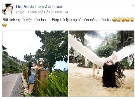 Cuoc song cua 'Hoa hau noi tieng Anh do' Thu Vu sau khi huy hon - Anh 1