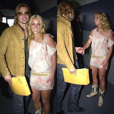Ngoi sao 24/7: Brad Pitt bat khoc, om con vao long khi lan dau duoc gap lai - Anh 4