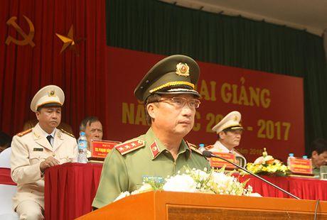Truong Dai hoc PCCC khai giang nam hoc moi - Anh 4
