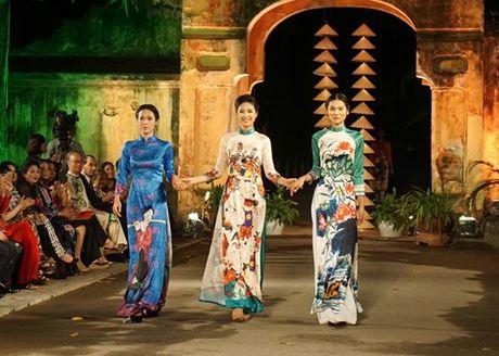 Festival ao dai Ha Noi quy mo lon lan dau tien o Ha Noi dien ra vao thang 10 - Anh 11