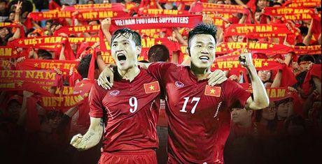 Lum xum hau Viet Nam vs Trieu Tien: Khan dai van rat dong! - Anh 1