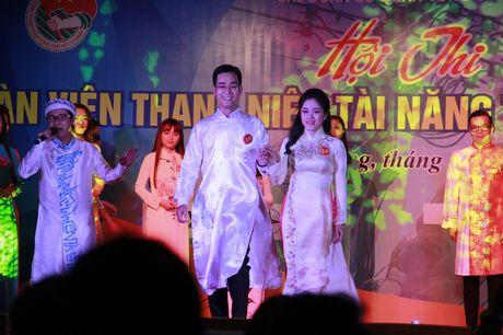 Tranh tai trai thanh gai lich nganh dien mien Trung - Anh 2