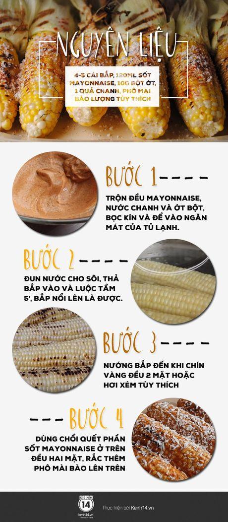"""""""Nang cap"""" mon bap nuong voi phien ban bap sot mayonnaise beo ngay - Anh 1"""