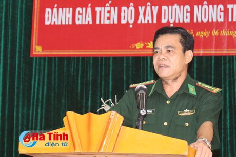 BDBP Ha Tinh ho tro xa Thach Khe 500 trieu xay dung NTM - Anh 2