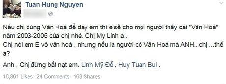Khi Facebook tro thanh 'chien truong' cua sao nam Viet - Anh 10