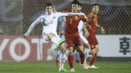 Thua soc Syria, co hoi du World Cup them mo mit voi Trung Quoc - Anh 1