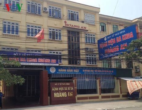 Gia danh phong vien Dai tieng noi Viet Nam tong tien benh vien tai Thai Binh - Anh 1