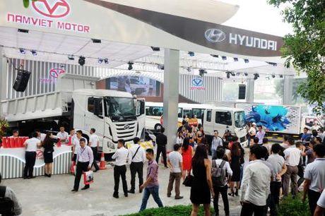Namviet Motor trinh lang 3 dong xe thuong mai chu luc cua Hyundai - Anh 1
