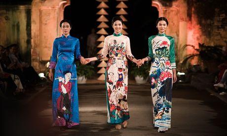 Dan nguoi dep HHVN 2016 hoi ngo o Festival Ao dai 2016 - Anh 4