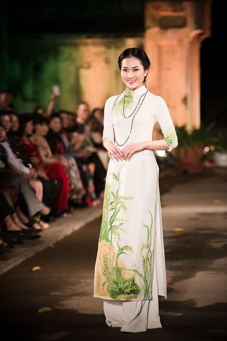 Dan nguoi dep HHVN 2016 hoi ngo o Festival Ao dai 2016 - Anh 8