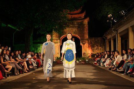 Festival Ao dai Ha Noi 2016 trinh dien tai Hoang thanh Thang Long - Anh 3