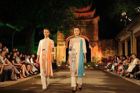 Festival Ao dai Ha Noi 2016 trinh dien tai Hoang thanh Thang Long - Anh 5