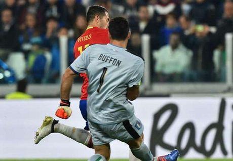 "Vitolo: ""Toi soc khi Buffon mac sai lam"" - Anh 2"