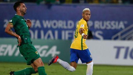 Vuot mat Zico, Neymar huong toi thanh tich cua Romario - Anh 1