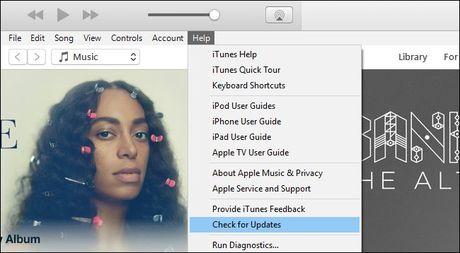 Khac phuc loi iTunes khong nhan iPhone, iPod, iPad - Anh 1
