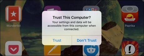 Khac phuc loi iTunes khong nhan iPhone, iPod, iPad - Anh 2