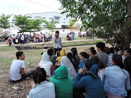 Ba Ria - Vung Tau: Cong nhan khong duoc tra tien luong lam them thoa dang - Anh 1
