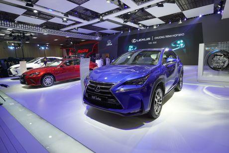 Bon mau xe Lexus an tuong tai trien lam o to 2016 - Anh 2
