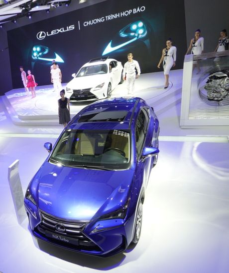 Bon mau xe Lexus an tuong tai trien lam o to 2016 - Anh 3