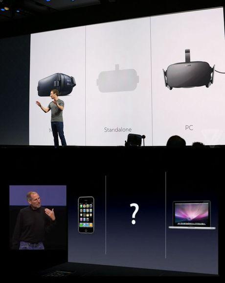 Nhin Mark Zuckerberg thuyet trinh, ta lai nho toi Steve Jobs khi ra mat chiec iPad dau tien - Anh 3