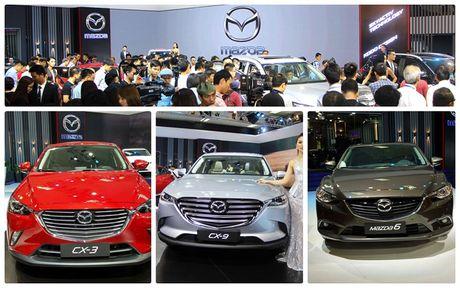Nhieu mau xe Mazda moi 'do bo' vao VMS 2016 - Anh 1