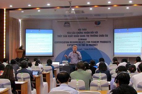 Chuyen gia chau Au chia se kinh nghiem voi doanh nghiep thuy san Viet - Anh 1