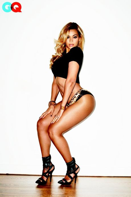 Ngam dang voc san chac, vong 3 sexy 99cm cua Beyonce - Anh 10