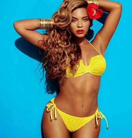 Ngam dang voc san chac, vong 3 sexy 99cm cua Beyonce - Anh 1