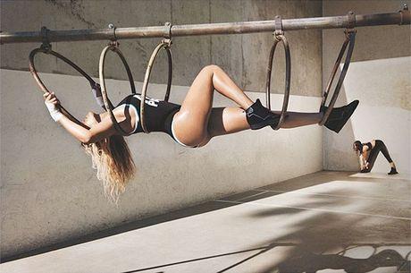 Ngam dang voc san chac, vong 3 sexy 99cm cua Beyonce - Anh 7