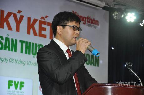 Khach hao hung voi nong san thuc pham sach tai le ky ket cua 15 DN - Anh 5