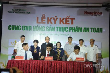 Khach hao hung voi nong san thuc pham sach tai le ky ket cua 15 DN - Anh 6